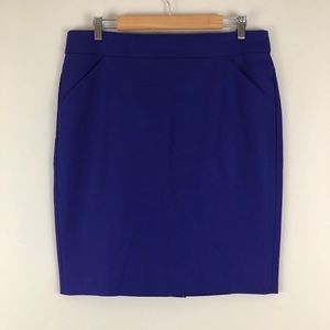 J. Crew Pencil skirt in double-serge cotton